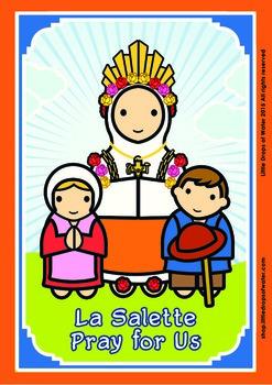 Lady of La Salette Poster - Catholic