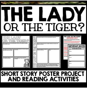 Lady or the Tiger Short Story Poster Project with Questions