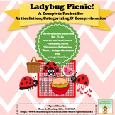 LadyBug Picnic: A Complete Packet for Articulation, Categorizing & Comprehension