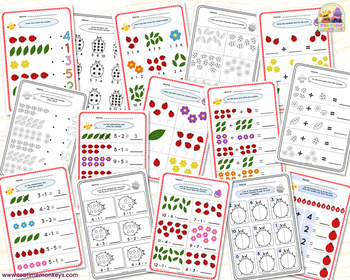 Ladybird Early Maths Games & Activities Pack - Ladybug Math - 10 Games in 1!