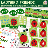 Ladybird Early Maths Games & Activities Pack - Ladybug Mat