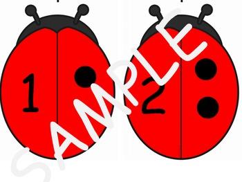 Ladybird Number Match 1-6