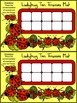 Ladybug Math Activities: Ladybug Ten Frames Spring-Summer Activity Packet
