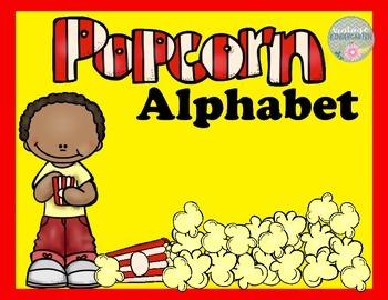 Popcorn Alphabet
