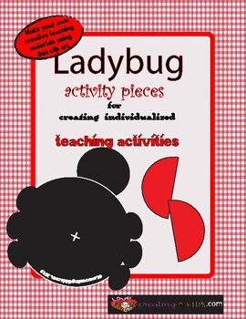 Ladybug Activity Pieces