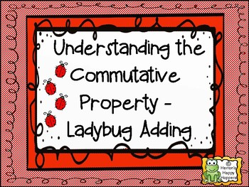 Ladybug Adding - Commutative Property