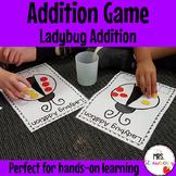 Ladybug Addition Activity