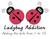 Ladybug Addition Cards to 10