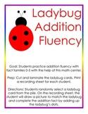 Ladybug Addition Center