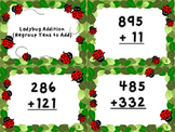 Ladybug Addition - Regrouping Tens to Add