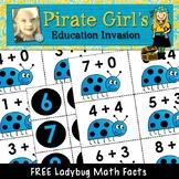 #freebiefriday Ladybug Addition (facts to 10)