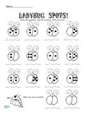 Ladybug Addition for K-2 No Prep