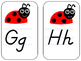 Ladybug Alphabet Cards