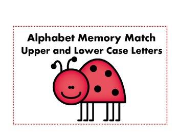 Ladybug Alphabet Match