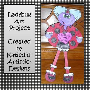Ladybug Art Project