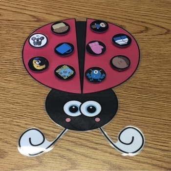 Ladybug Articulation Craftivity Early Developing Sounds