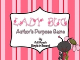 Ladybug Author's Purpose Game