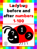Ladybug Before and After Numbers 1-100