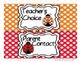 Ladybug Behavior Clip Chart - Polka Dot Backgrounds