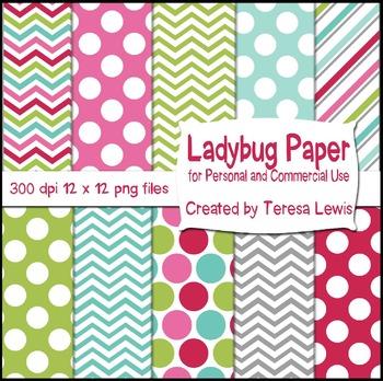 Ladybug Bunting Banners