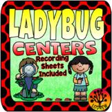 Bug Centers Ladybug Centers Ladybug Activities Worksheets Recording Sheets