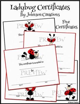 Ladybug Certificates