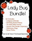Ladybug Classroom Decor Bundle