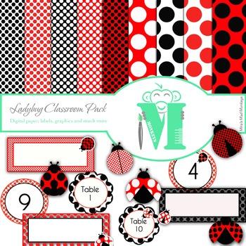 Ladybug Classroom Set