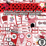 Classroom Theme Decor / Organization - Mega Bundle (Editab
