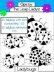 Ladybug Clip Art- Colored, Numbers, Pre-Made Activity Clips