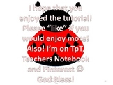 *FREE* Valentine's Day {Ladybug} Clip-Art Tutorial