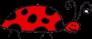 Ladybug Clipart- Free commercial or personal use