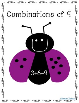 Ladybug Clipart: All Number Combinations 5-10, Plus Posters