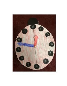 Ladybug Clock Craftivity