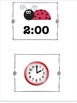 Ladybug Clock Game to the hour