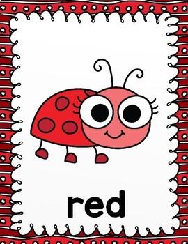 Ladybug Color Posters