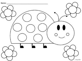 Ladybug Coloring Sheets
