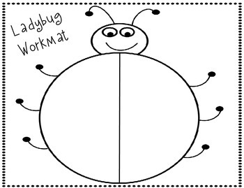 Ladybug Composing Numbers 1-10 Activity and Assessment Freebie!