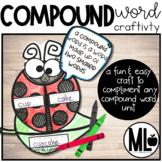 Ladybug Compound Word Craftivity