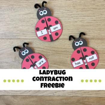 Ladybug Contraction Freebie!