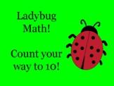 Ladybug Counting 0-10