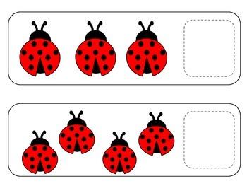Ladybug Counting 1 - 10
