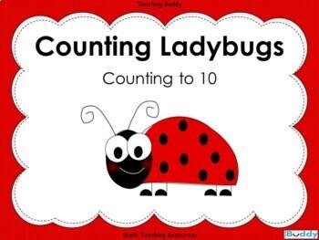 Ladybug Counting Teaching Resources | Teachers Pay Teachers