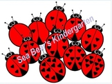 Ladybug Counting Clip Art