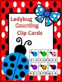 Ladybug Counting Clip Cards