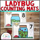 Ladybug Counting Mats 1 - 20