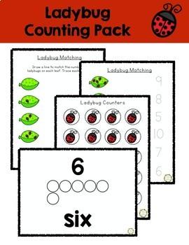 Ladybug Counting Pack