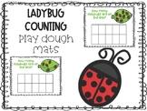 Ladybug Counting Play Dough Mats
