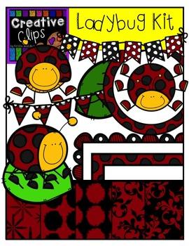 Ladybug Creative Kit {Creative Clips Digital Clipart}