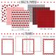 Ladybug Creative Set - Frames, Borders and Digital Papers